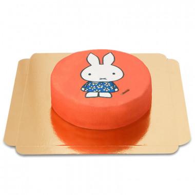 Czerwony tort z Miffy