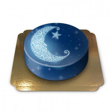 Tort z księżycem