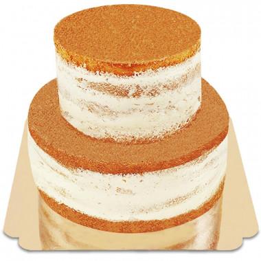 Naked Cake dwupiętrowy
