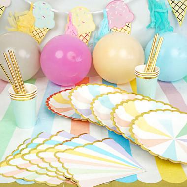 """Zestaw imprezowy - """"pastelowe urodziny"""""""