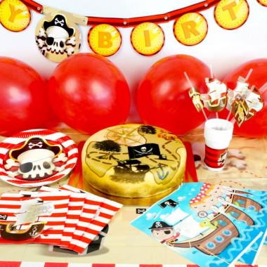 Piraci - zestaw z tortem