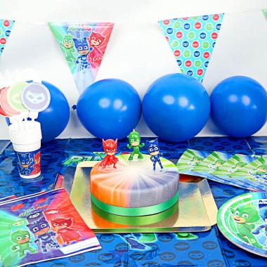 Zestaw imprezowy Pidżamersi z tortem