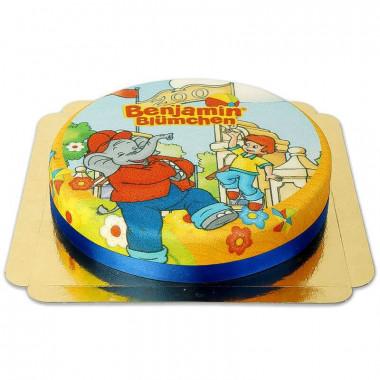 Tort ze Słoniem Benjaminem i Otto