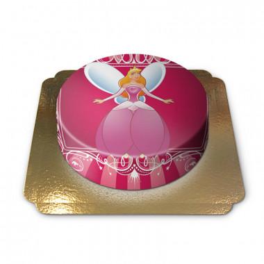 Tort z księżniczką Aurorą