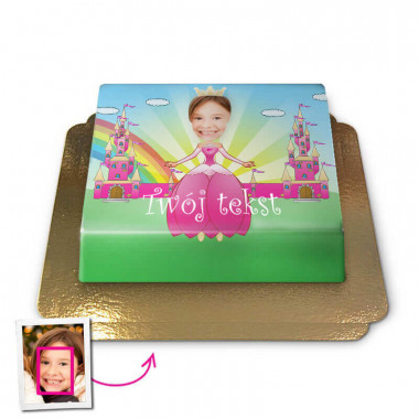Face-Cake - Księżniczka