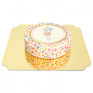 Księżniczka Lillifee-Tort z brokatem i złotem