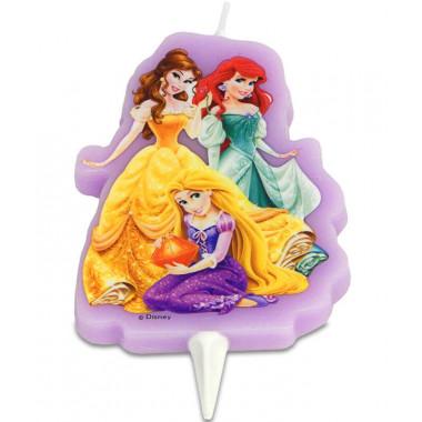 Świeczka na tort - Księżniczki