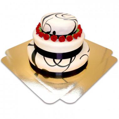 Tort weselny- Classic Wedding