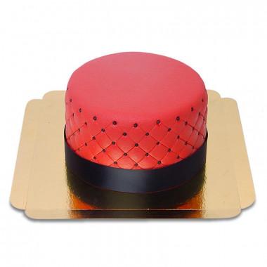 Czerwony Tort Deluxe – podwójna wysokość