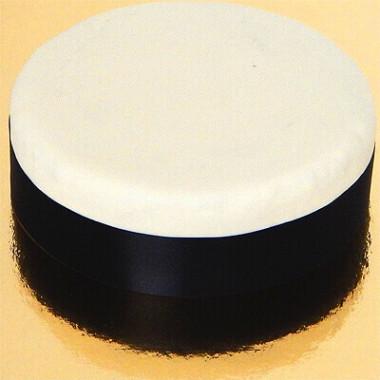 Szeroka wstążka tortowa, czarna