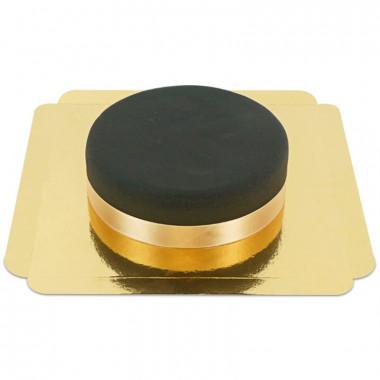 Czarny Tort - ze wstążką