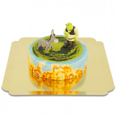 Tort Shrek i Osioł