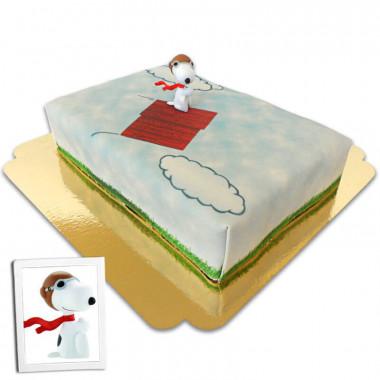 Tort - latający Snoopy