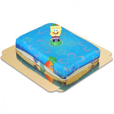 SpongeBob Kanciastoporty na torcie morskim