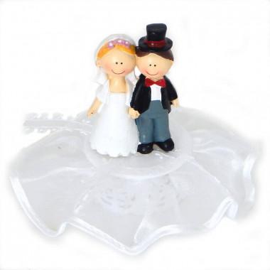 Figurka na tort - Szczęśliwa Para Młoda