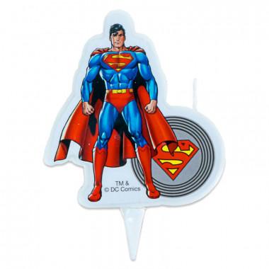 Świeczka tortowa z Superman'em