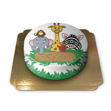 Tort ze zwierzętami