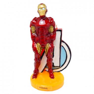 Świeczka tortowa Iron-Man