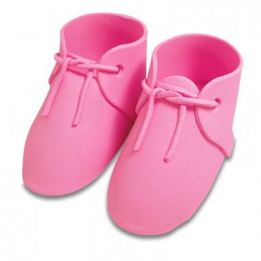 Cukrowe buty dziecięce w kolorze różowym