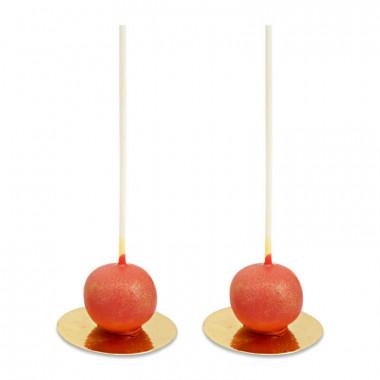 Walentynkowe Cake-Pops Deluxe- czerwone (10 sztuk)