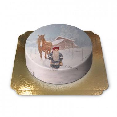 Świąteczny elf w śnieżycy - Jan Bergerlind