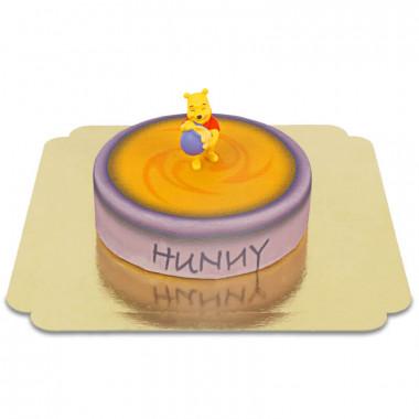 Tort Kubuś Puchatek na miodowym garnuszku