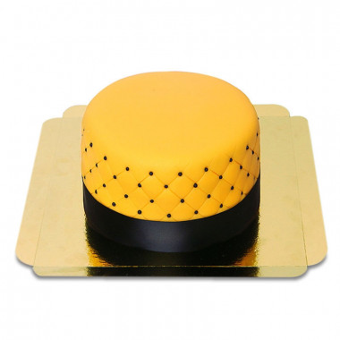 Żółty Tort Deluxe – podwójna wysokość