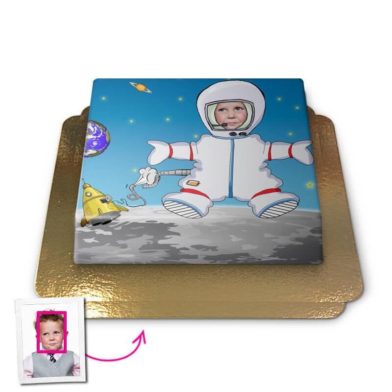 Tort Face-Cake - Astronauta