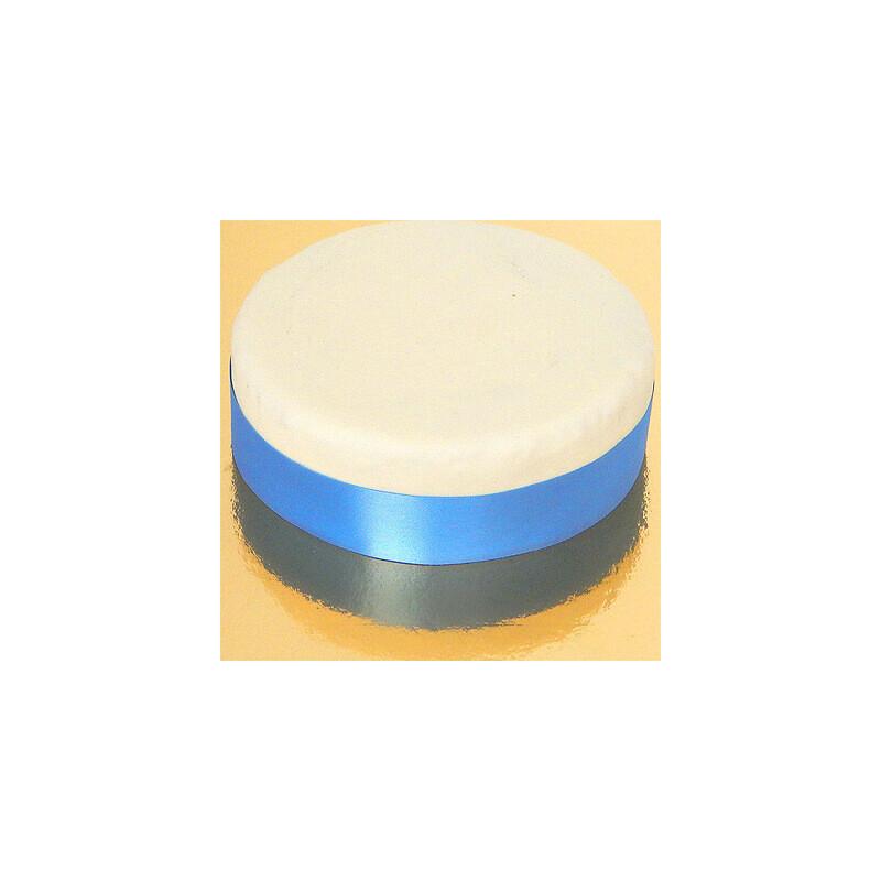 Szeroka wstążka tortowa, jasnoniebieska