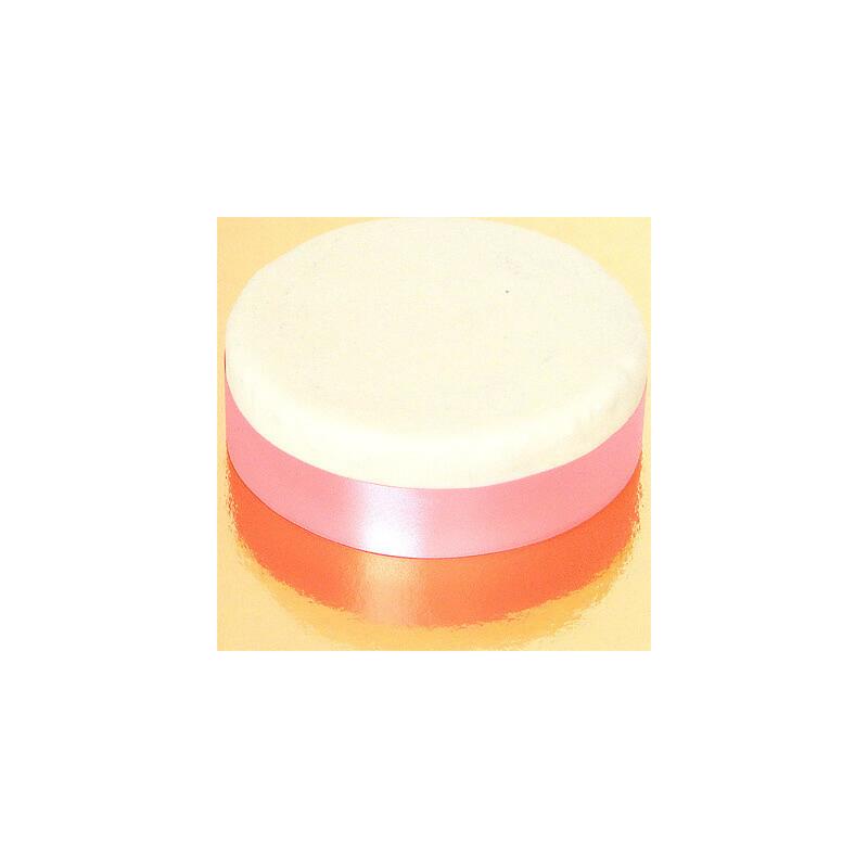 Szeroka wstążka tortowa, różowa