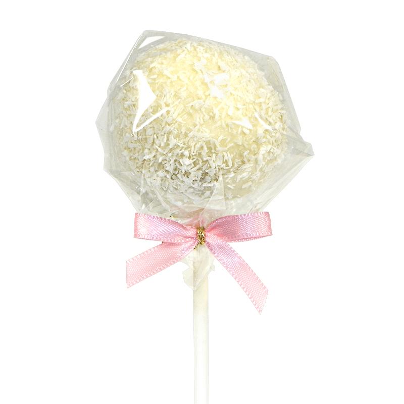 Cake-Pops, wiórki kokosowe