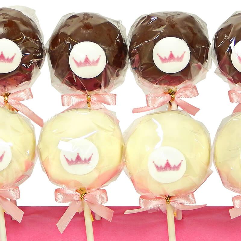 Cake-Pops z logiem