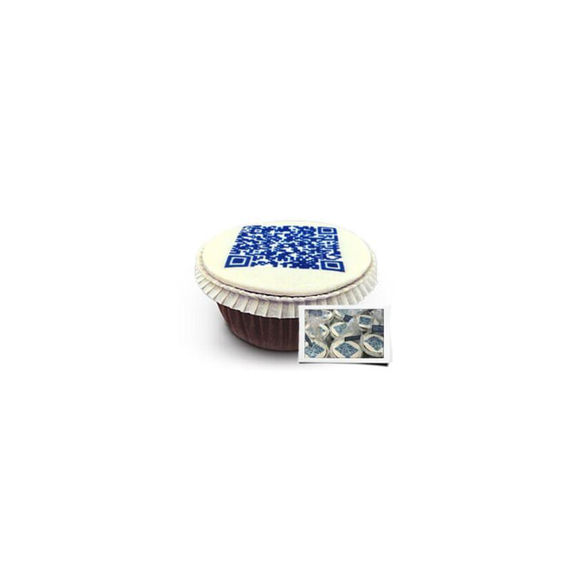 QR-Code Cupcakes einzeln verpackt