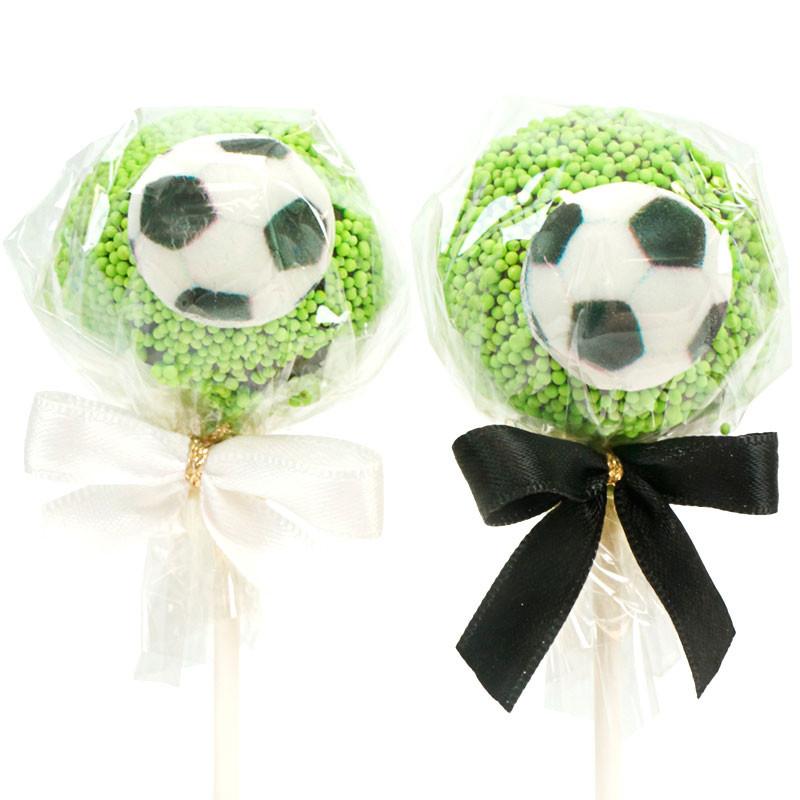 Piłkarskie Cake-popsy (12 sztuk)