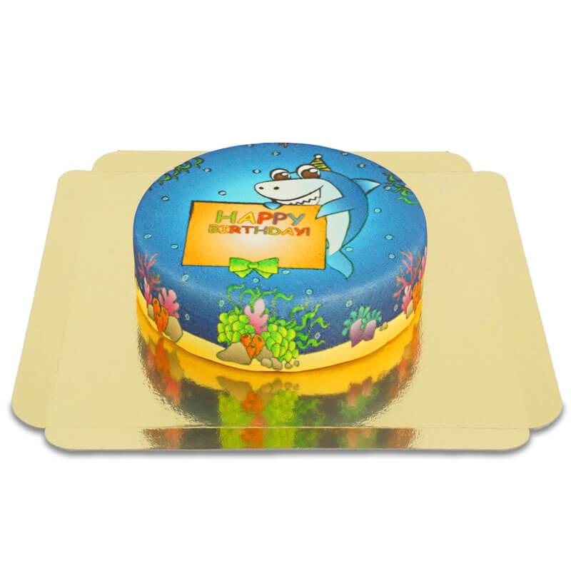 Baby Shark tort urodzinowy