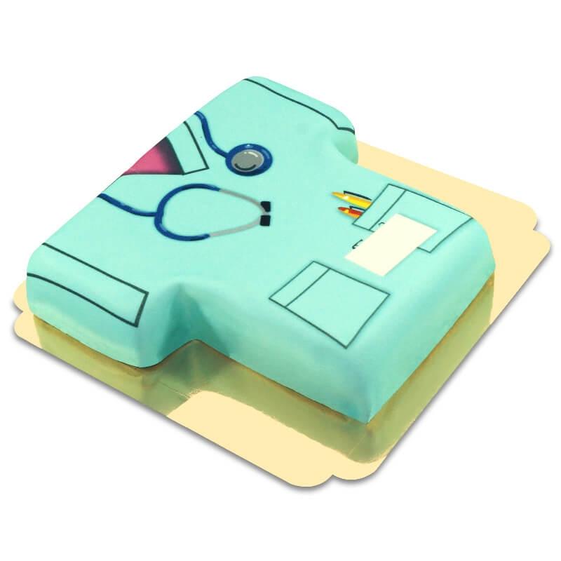 Uniform Pielęgniarki - Tort