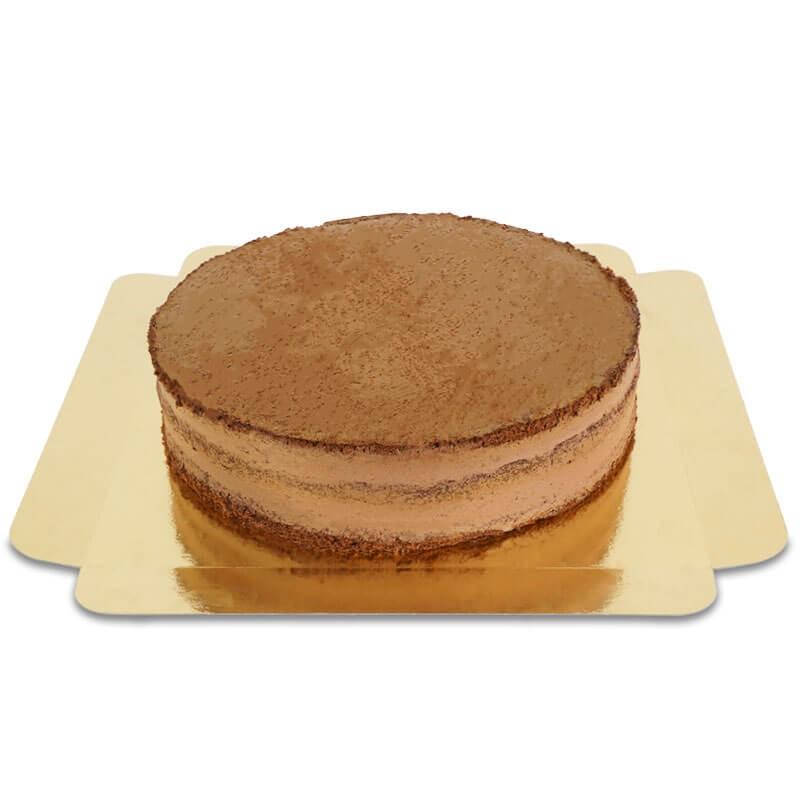 Schokoladiger Naked Cake Größe L
