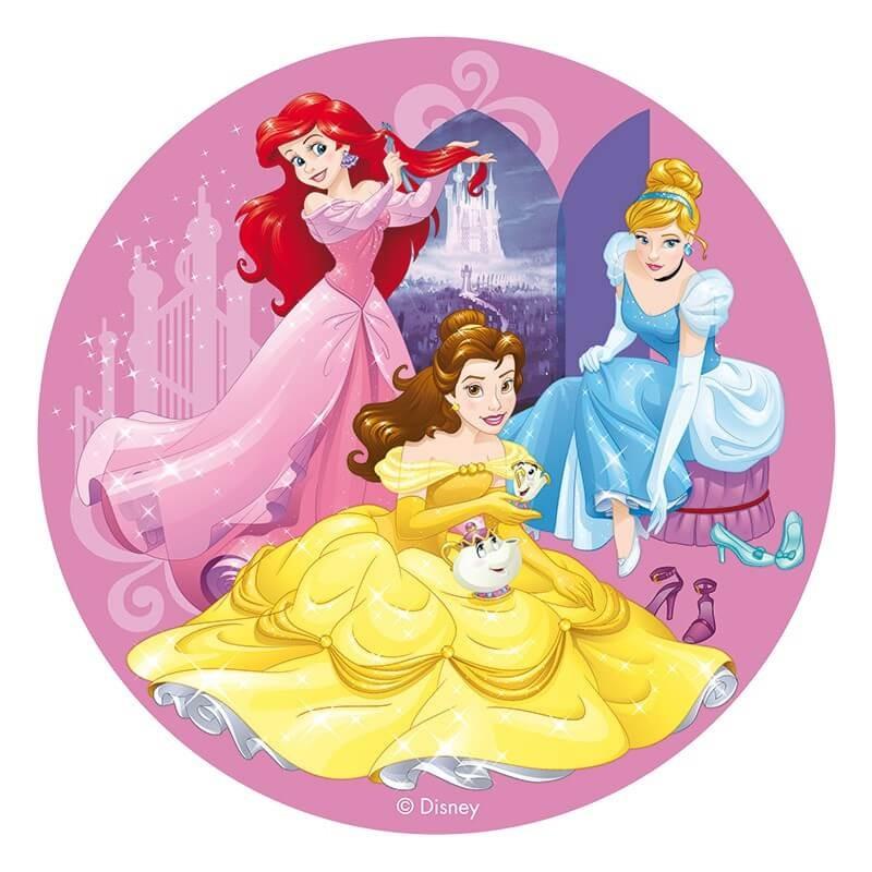 Nakładka na torta z Księżniczkami