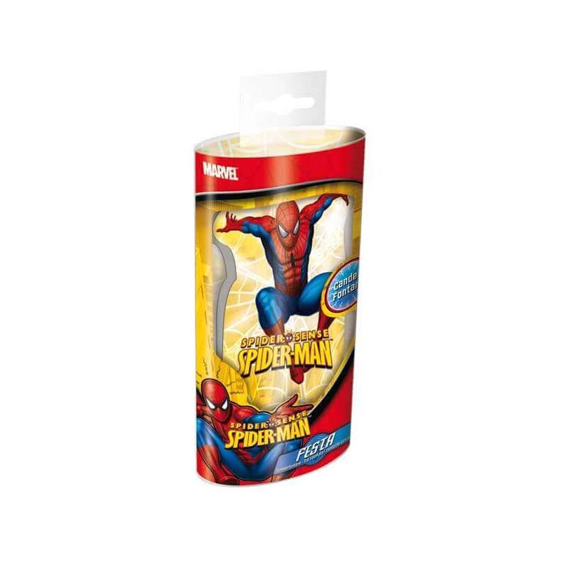 Fontanna tortowa - Spiderman