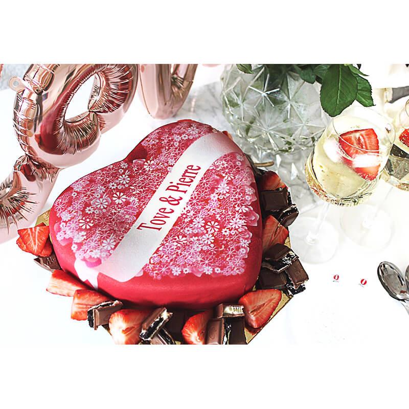 Toves Valentines Cake