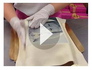 DIY: Prostokątne nakładki na tort