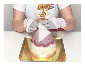 Puppenprinzessin-Składanie tortu po dostarczeniu